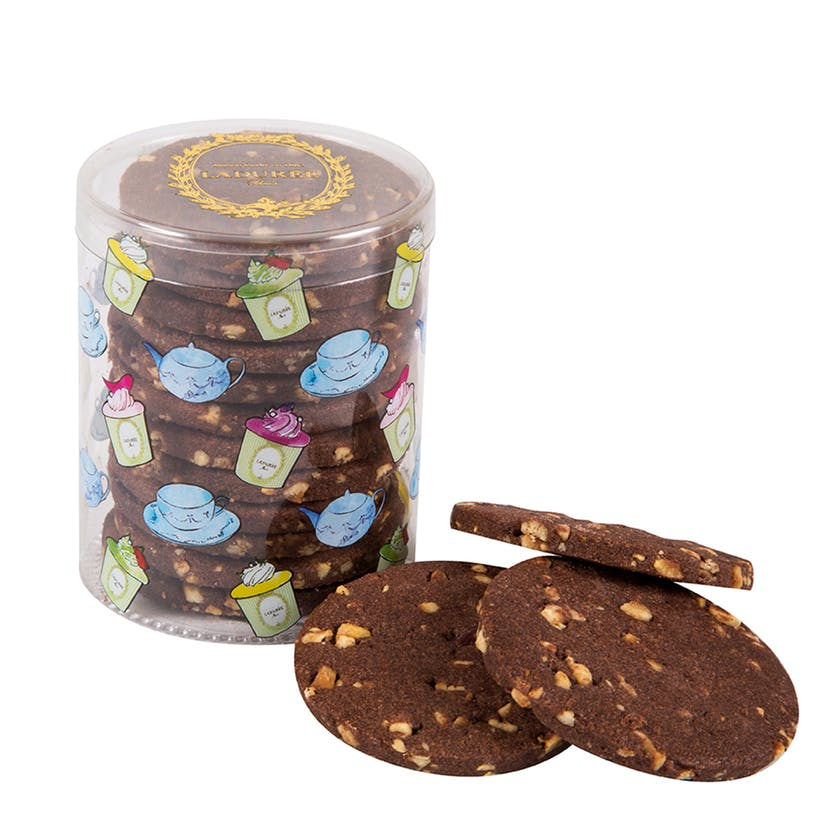 Chocolate Hazelnut Sable Biscuits
