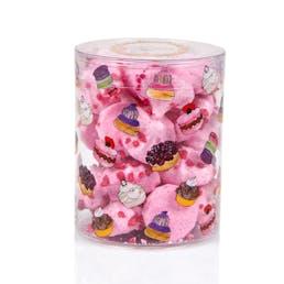 Rose Meringue Buttons
