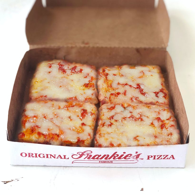 Square Cheese Pizza - 6 Pack