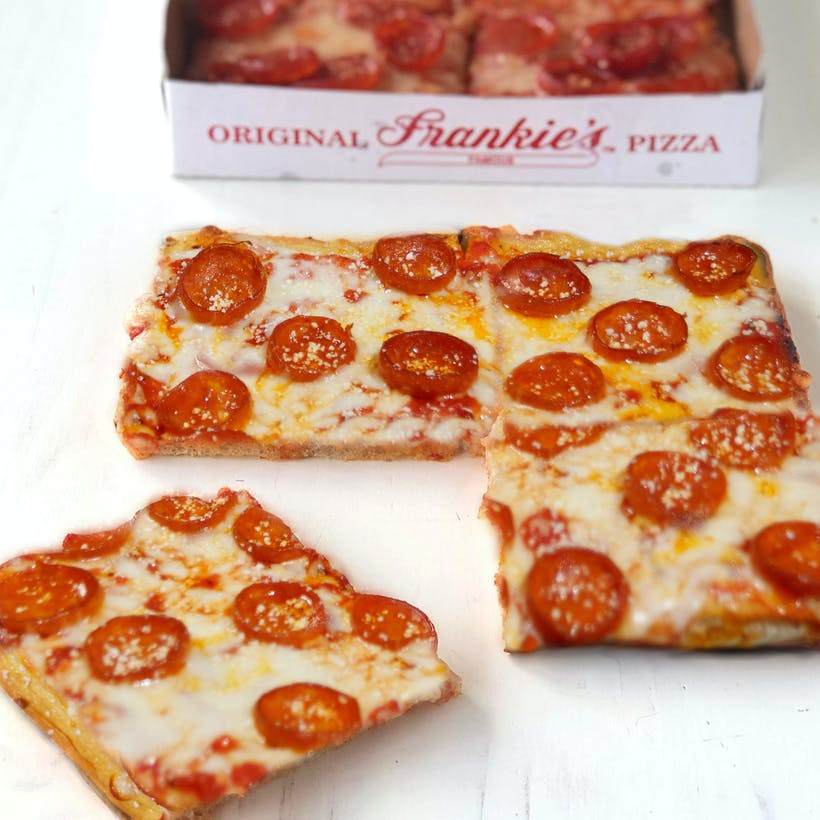 Square Pepperoni Pizza - 6 Pack