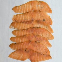 Smoked Salmon Trio