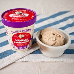 Vanilla Cinnamon Ice Cream - Gluten Free