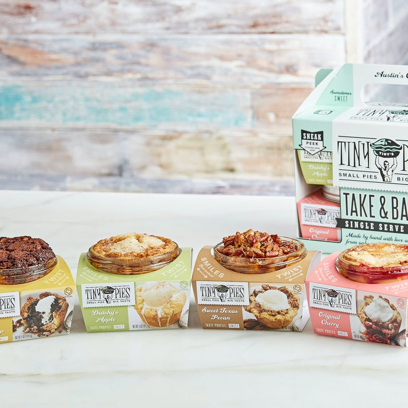 Father's Day Mason Jar Pie Box - 4 Pack