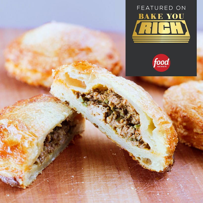 Cuban Meat Pie (8 Pack) - Bake You Rich Winner