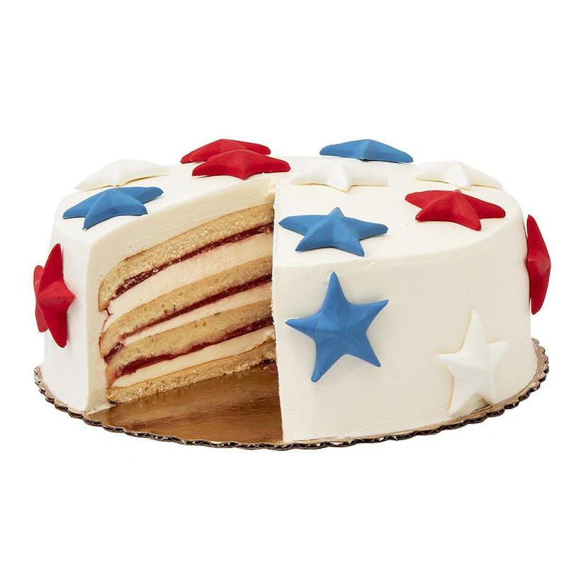 Star Spangled Strawberry Shortcake