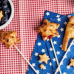 Stars and Flags Pie Pops