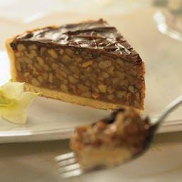 Chocolate Covered Praline Pecan Pie
