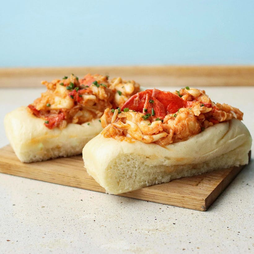 Brown Butter Lobster Roll Kit - 4 Pack