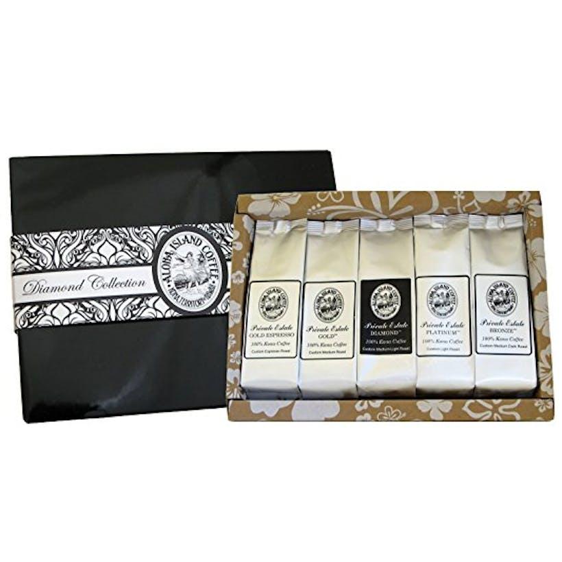 100% Kona Diamond Coffee Collection