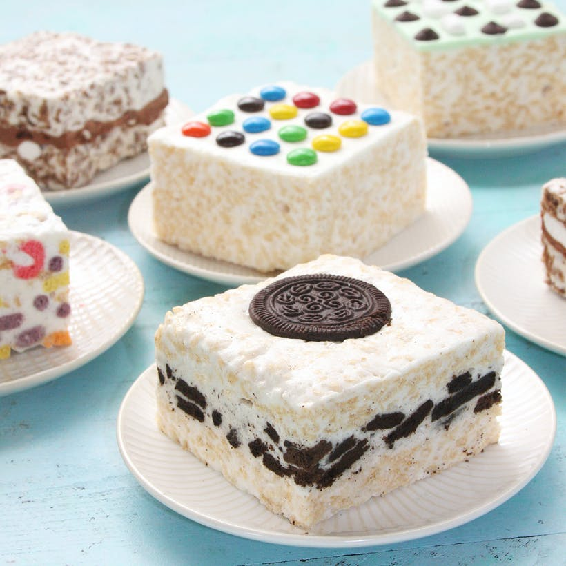Choose Your Own Marshmallow Crispycakes -  8 Pack