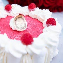 Raspberry Vanilla Vacherin