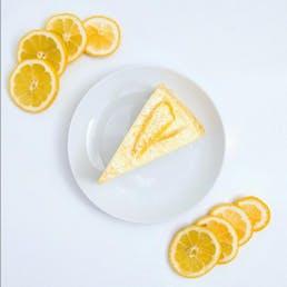 Citron Mille Crêpes Cake
