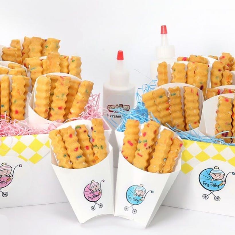 "Cookie ""Fry Baby"" Basket - 12 Cartons"