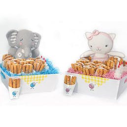 """Cookie """"Fry Baby"""" Basket - 24 Cartons + Plush Toy"""