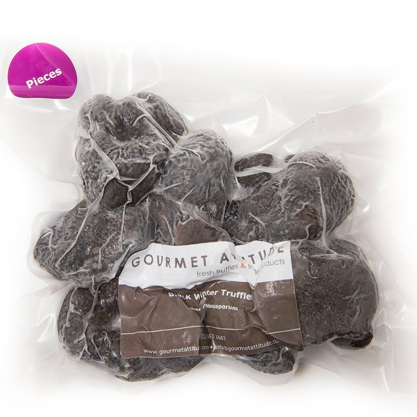 Frozen Black Winter Truffle Pieces - Tuber Melanosporum Vittadini
