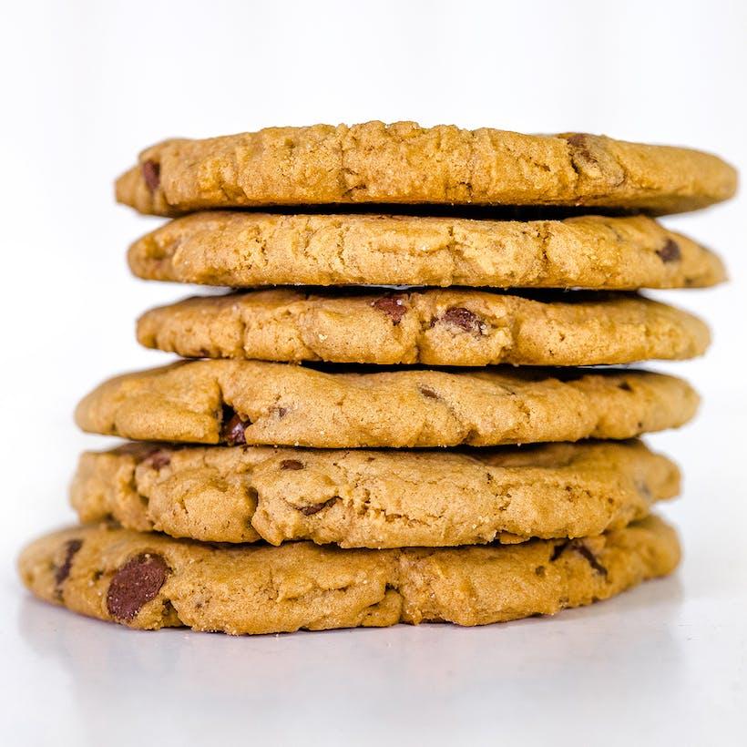 Texas Sized Chocolate Chip Cookies - Dozen