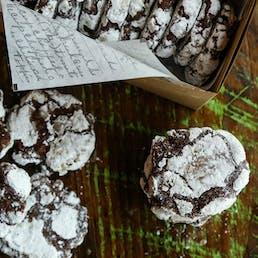 Chocolate Espresso Cookie Dozen
