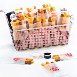 Deep Fryer Cookie Fries Basket - 40 Mini Bags