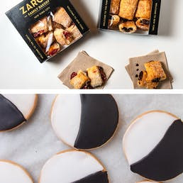 Black and White Cookies + Rugelach