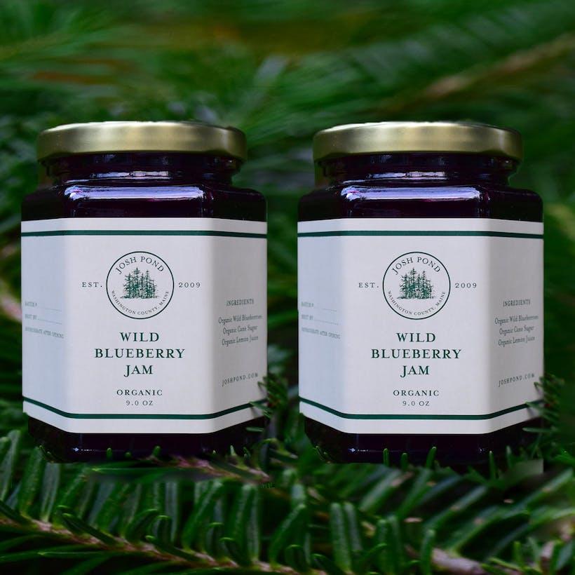 Wild Organic Blueberry Jam - 2 Pack
