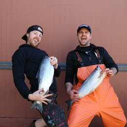 Fresh Whole Sockeye Salmon