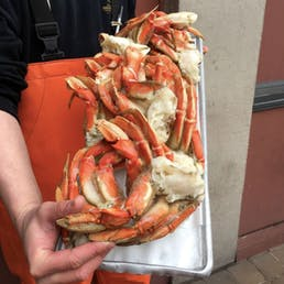 Dungeness Crab Sections by the pound