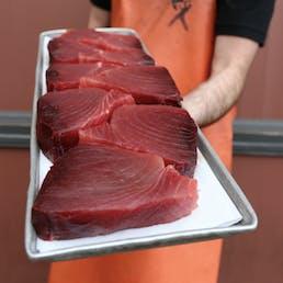 Yellowfin Tuna (Ahi) Steaks by the pound