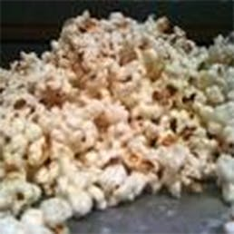 White Chocolate Coated Gourmet Popcorn