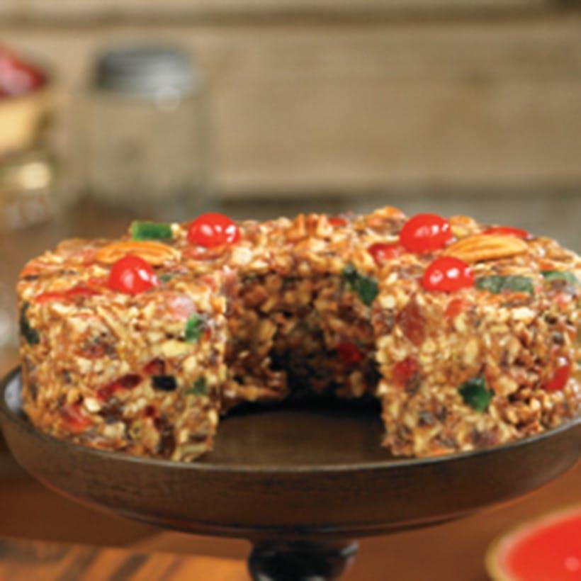 Original Texas Pecan Fruit Cake - 3 lbs