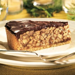 Chocolate Covered Praline Pecan Pie