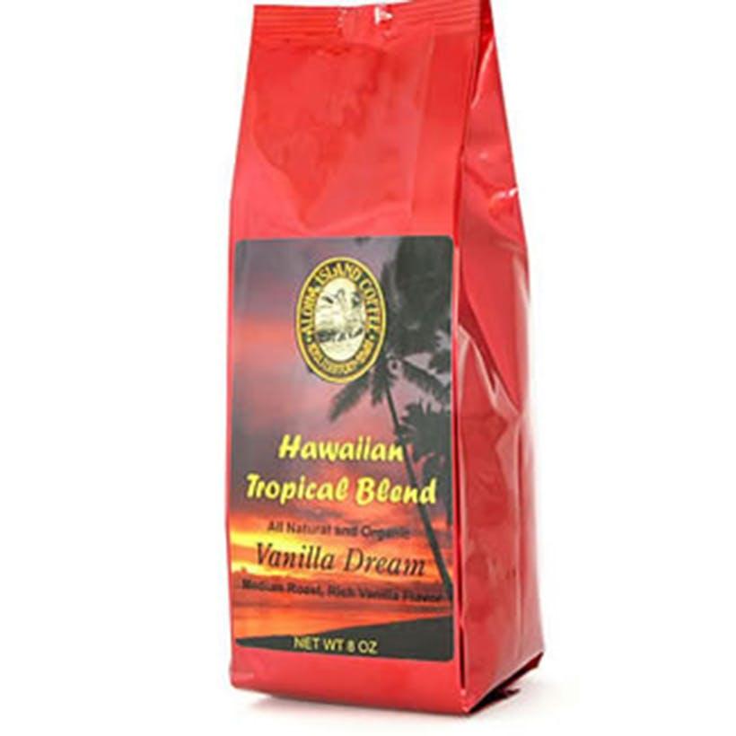 Whole Bean Hawaiian Coffee - 8 oz.