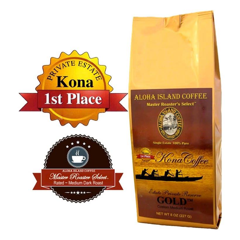 Gold 100% Pure Kona Coffee