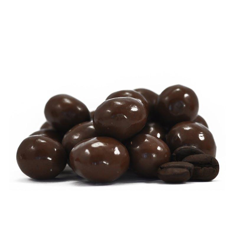 Dark Chocolate Covered Coffee Beans