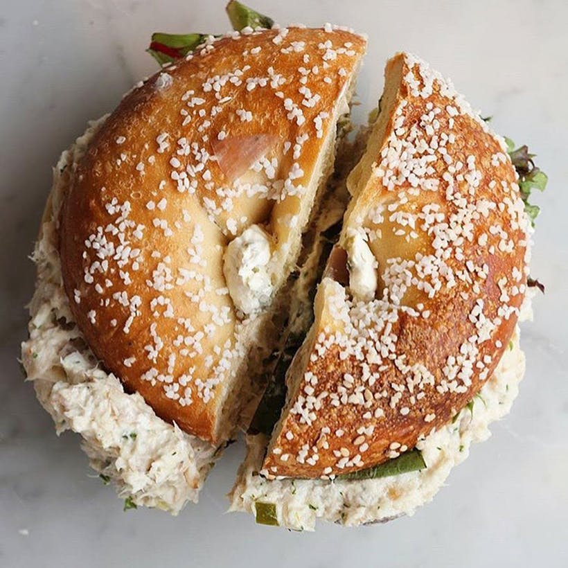Bialys + Bagels & Smoked Fish Salad with a Schmear