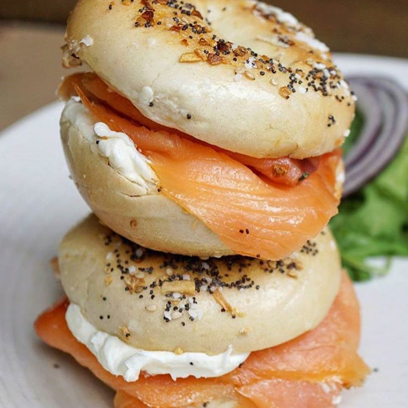 Bialys + Bagels & Lox with a Schmear