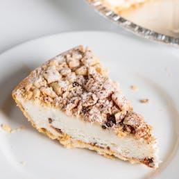 Butterfinger Cannoli Pie