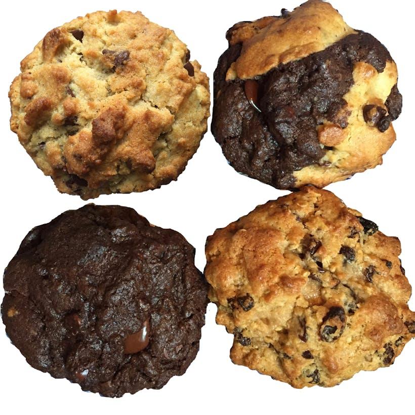 Assorted Best Seller GIANT Cookies - 8 Pack