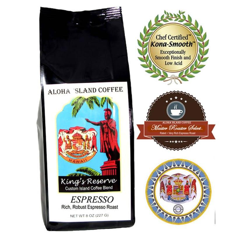 Kings Reserve Espresso Blend Coffee