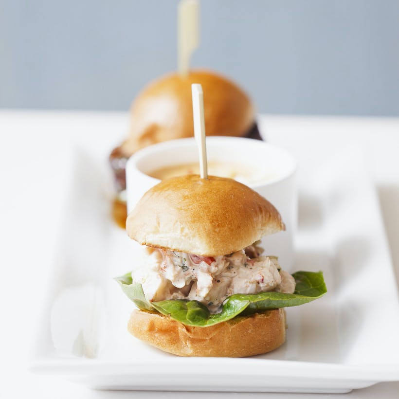 Maine Lobster Roll Sliders