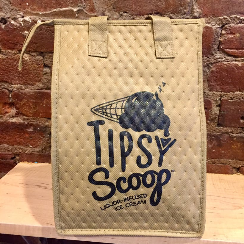 Tipsy Scoop Insulated Tote Bag