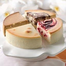 Sugar-Free Cheesecake Sampler