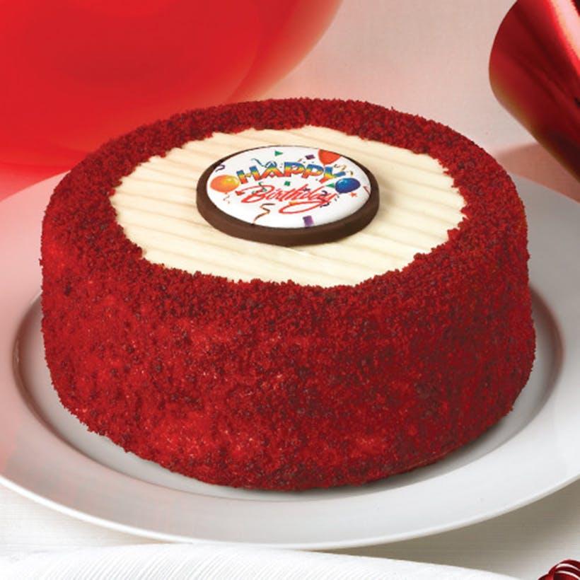 Happy Birthday Red Velvet Cheesecake