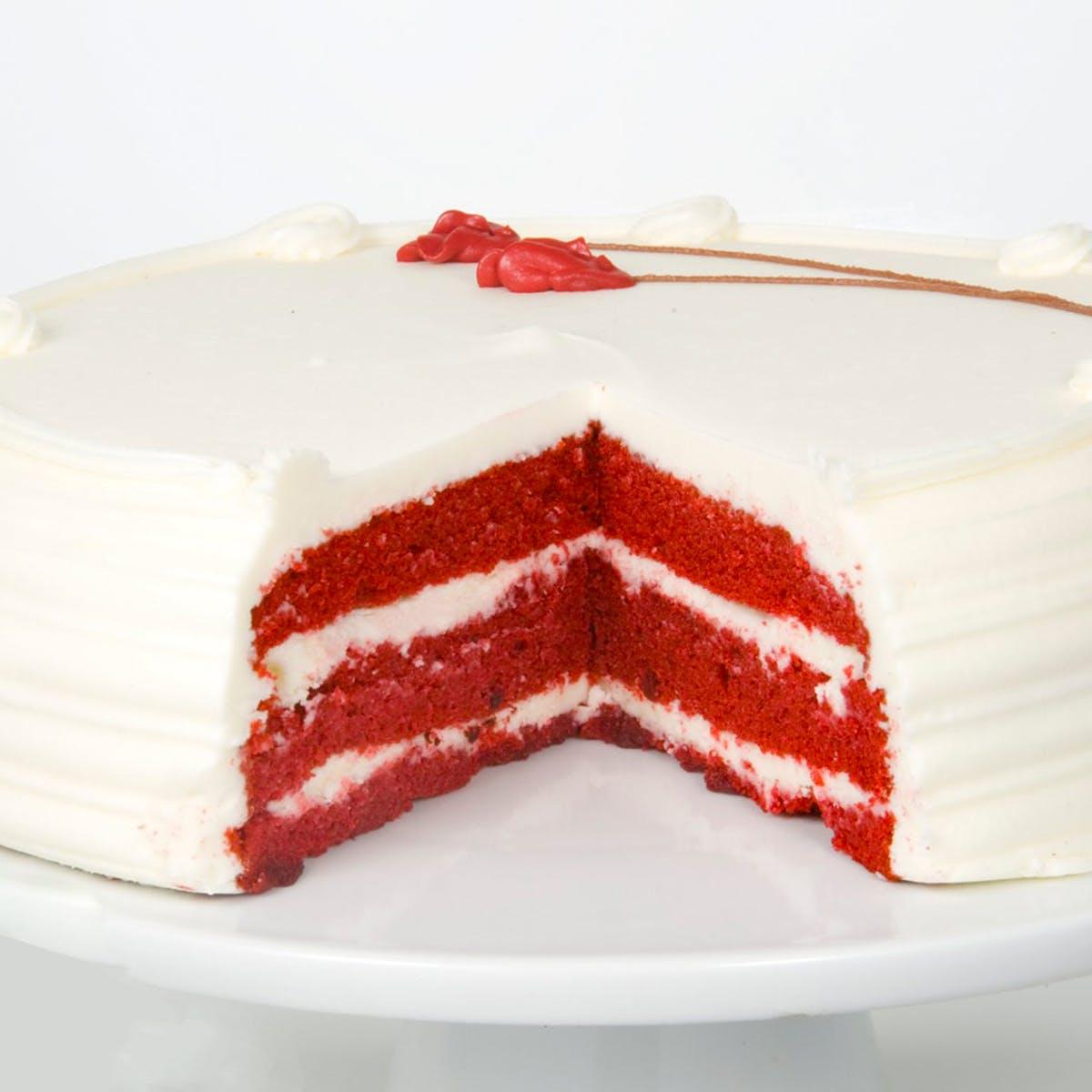 Super Oprahs Favorite Red Velvet Birthday Cake By Carousel Cakes Funny Birthday Cards Online Elaedamsfinfo