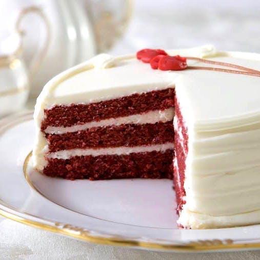 Magnificent Oprahs Favorite Red Velvet Birthday Cake By Carousel Cakes Funny Birthday Cards Online Fluifree Goldxyz