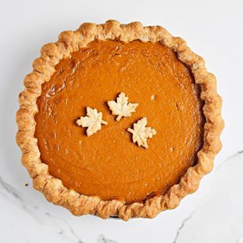 """Not So Tiny Pumpkin Pie - 9"""" Pie"""