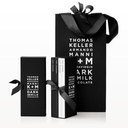K+M Extravirgin Chocolate Bar Signature Set