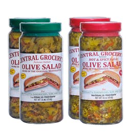 Choose Your Own Muffuletta Olive Salad - 4 Pints