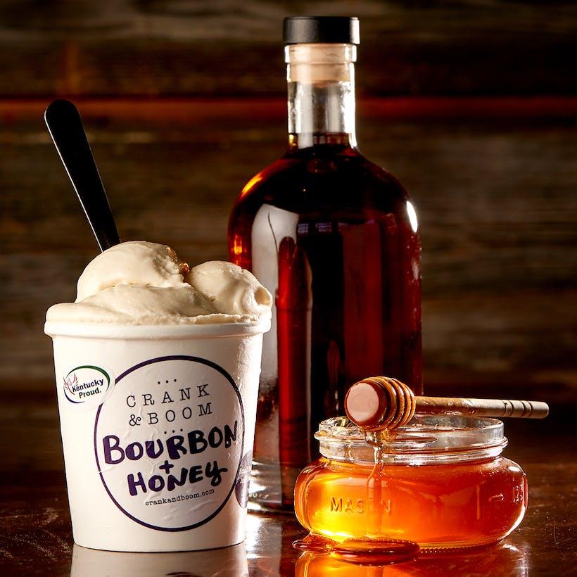 Bourbon & Honey Ice Cream - 6 Pints