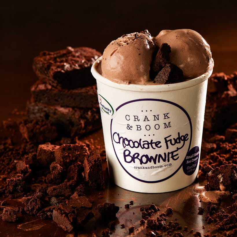 Chocolate Fudge Brownie Ice Cream - 6 Pints