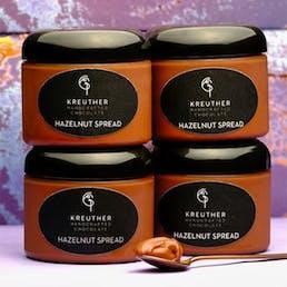 Chocolate Hazelnut Spread - 4 Pack